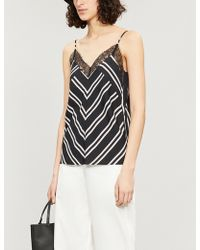 Maje - Lison Twill Top - Lyst