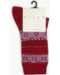 Falke - Oslo Knitted Socks - Lyst