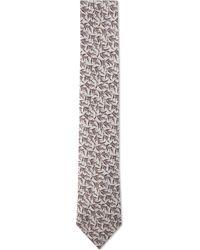 Duchamp | Lavender Sprig Silk Tie | Lyst