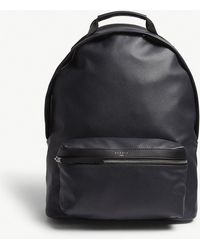 Sandro - Grained Leather Backpack - Lyst