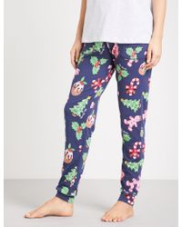 Peter Alexander - Christmas Icons Easy Stretch-cotton Pyjama Bottoms - Lyst