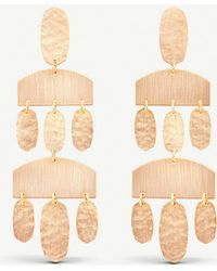Kendra Scott - Emmet 14ct Rose Gold-plated Earrings - Lyst