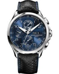 Baume & Mercier - Clifton Stainless Steel Watch - Lyst