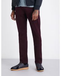 PAIGE - Federal Regular-fit Straight Jeans - Lyst