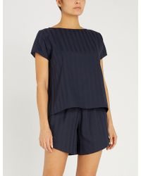 Tommy Hilfiger - Relaxed-fit Cotton Pyjama Top - Lyst