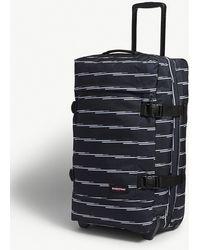 Eastpak - Tranverz L Chatty Lines Suitcase 79cm - Lyst