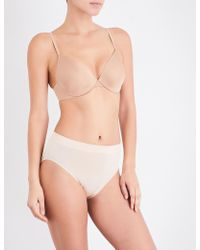 Wacoal - Intuition Underwired Contour Bra - Lyst