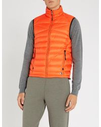 Ralph Lauren Purple Label - Quilted Shell-down Gilet - Lyst