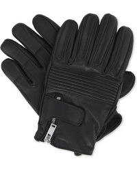 Sandro | Leather Racer Gloves | Lyst