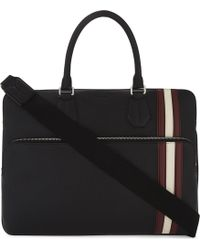 Bally | Seedorf City Grained Leather Briefcase | Lyst