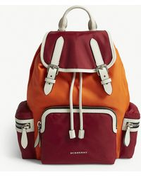 Burberry - Parade Red Quilted Rucksack - Lyst