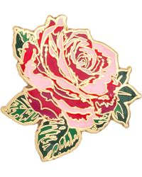 Ban.do - 'will You Accept This Rose?' Enamel Pin - Lyst