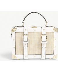 ALDO - Muscle Tassel Charm Top Handle Bag - Lyst