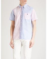 Polo Ralph Lauren - Fun Patterned Custom-fit Cotton Seersucker Shirt - Lyst