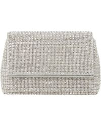 Dune - Everlina Diamante Embellished Clutch - Lyst