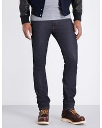 Nudie Jeans - Tilted Regular-fit Tapered Jeans - Lyst