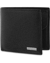 BOSS - Signature Textured Leather Coin Wallet - Lyst