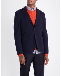 Slowear - Single-breasted Wool-blend Jacket - Lyst