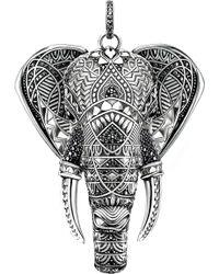Thomas Sabo - Elephant Head Sterling Silver - Lyst