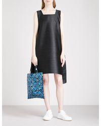 Pleats Please Issey Miyake - Pleated Knee-length Dress - Lyst