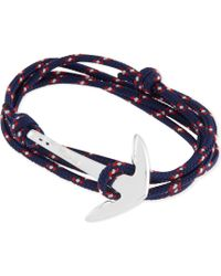 Miansai - Anchor Rope Bracelet - Lyst