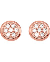 Thomas Sabo - Glam & Soul Rose Gold-plated And Diamond Studs - Lyst