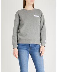 Chocoolate - Youth-patch Cotton-jersey Sweatshirt - Lyst