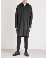 Juun.J - Oversized Cotton Coat - Lyst