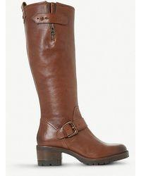 Dune - Tilburn Leather Boots - Lyst