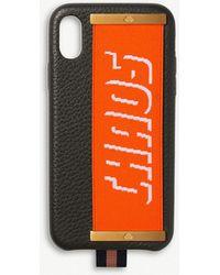 Chaos - Fluro Elastic Hand Hug Leather Iphone Xs Case - Lyst