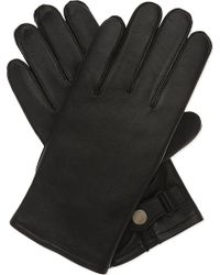 Sandro - H16 Classic Leather Gloves - Lyst