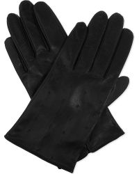 Sandro - Garance Leather Gloves - Lyst