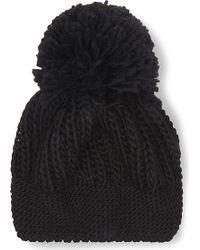 Sandro - Beryl Knitted Pom Pom Beanie - Lyst