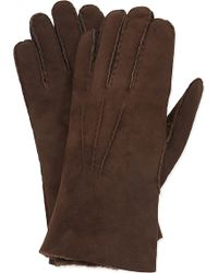 Paul Smith - Shearling Gloves - Lyst