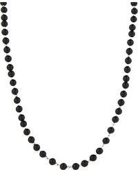 Black Dakini - Cuban Link Agate Beaded Necklace - Lyst