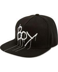 BOY London   Drip Logo Snapback   Lyst