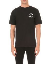 Born X Raised - Till Death Do Us Part Cotton-jersey T-shirt - Lyst