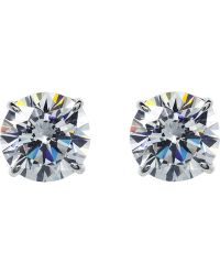 Carat* - Round 0.5ct Solitaire Stud Earrings - Lyst