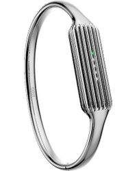 Fitbit - 2 Fitness Tracker Stainless Steel Small Bangle Accessory - Lyst