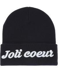 Maje | Brandy Embroidered Beanie | Lyst