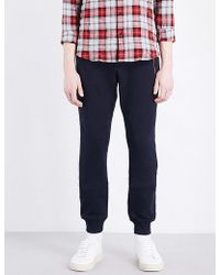 The Kooples Sport - Tapered Cotton Jogging Bottoms - Lyst