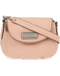 Marc Jacobs - Mini New Q Natasha Leather Cross-body Bag - Lyst