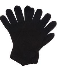 Pringle of Scotland - Cashmere Tubular Trim Gloves - Lyst