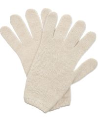 Pringle of Scotland - Cashmere Tubular Trim Gloves - Lyst
