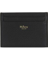 Mulberry - Grained Leather Card Holder - Lyst