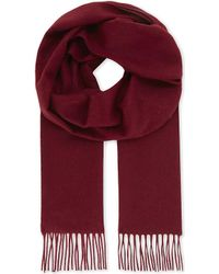 Richard James - Solid Cashmere Scarf - Lyst