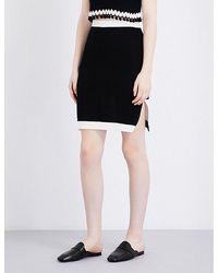 Katie Jones - Reversible Knitted Pencil Skirt - Lyst