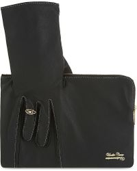 Undercover - Hand Leather Clutch - Lyst