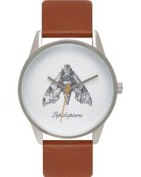 Unknown | Natural Science Lepidoptera Alloy And Leather Un14ns07 Watch | Lyst