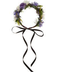 Rock N Rose - Violet Meadow Crown - Lyst